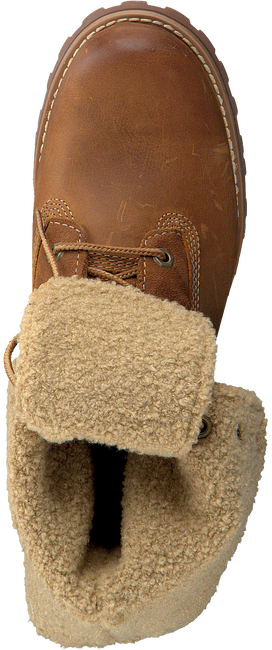 Cognac TIMBERLAND Enkelboots 6IN WP SHEARLING BOOT  - large