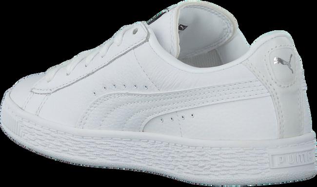 Witte PUMA Sneakers BASKET CLASSIC L BTS  - large