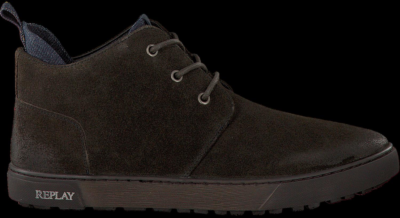 Replay Chaussures Marron Pour Les Hommes Mg1L0Q
