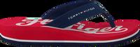 Rode TOMMY HILFIGER Slippers BASEBALL PRINT FLIP FLOP  - medium