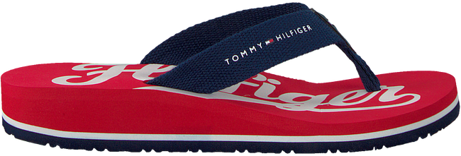 Rode TOMMY HILFIGER Slippers BASEBALL PRINT FLIP FLOP  - large