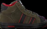 Groene PINOCCHIO Hoge sneaker P1896  - medium