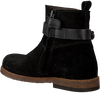 Zwarte CLIC! Enkellaarsjes 9202  - small