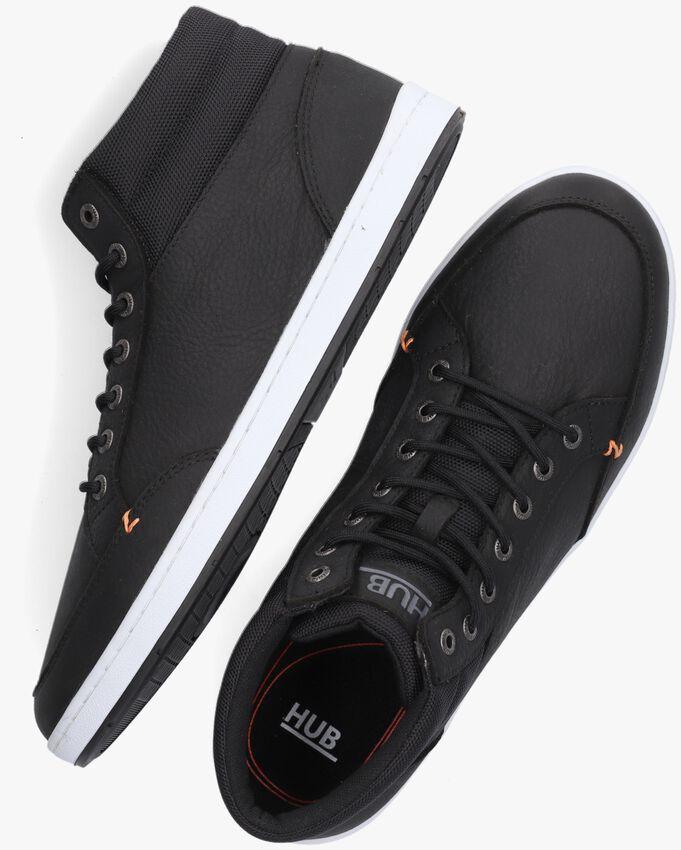Zwarte HUB Hoge sneaker INDUSTRY 2.0  - larger