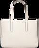 Witte CALVIN KLEIN Shopper EDGE MEDIUM SHOPPER - small