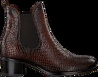 Bruine OMODA Chelsea boots KISHA  - medium