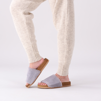 Grijze OMODA Pantoffels LUCY  - medium