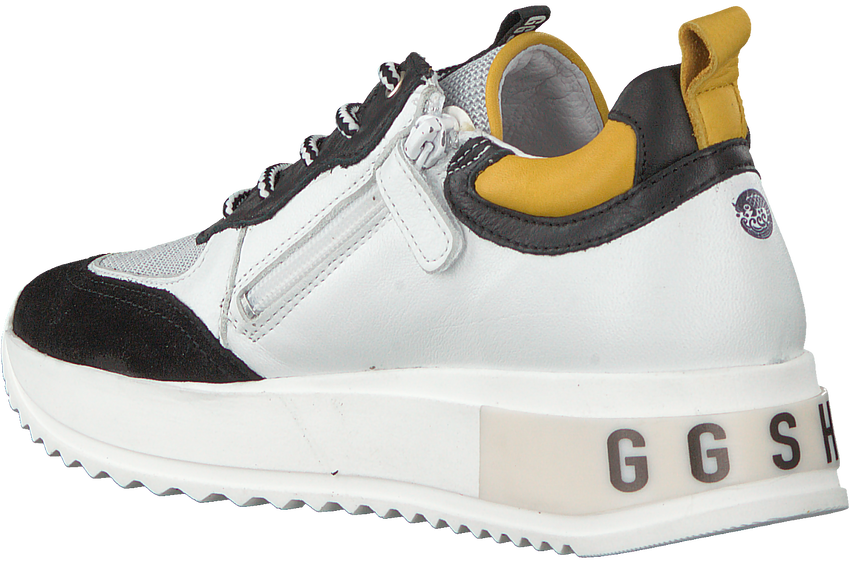Witte GIGA Lage sneakers G3403  - larger