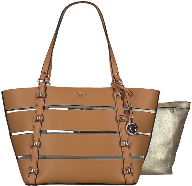 Cognac GUESS Shopper HWTG68 60230 - large