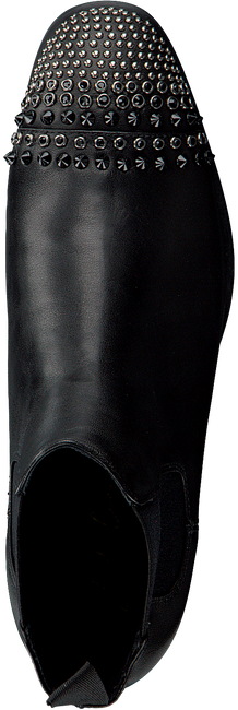 Zwarte LOLA CRUZ Enkellaarsjes BOTIN CON ELASTICO  - large