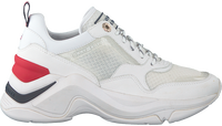Witte TOMMY HILFIGER Lage sneakers INTERNAL WEDGE SPORTY  - medium
