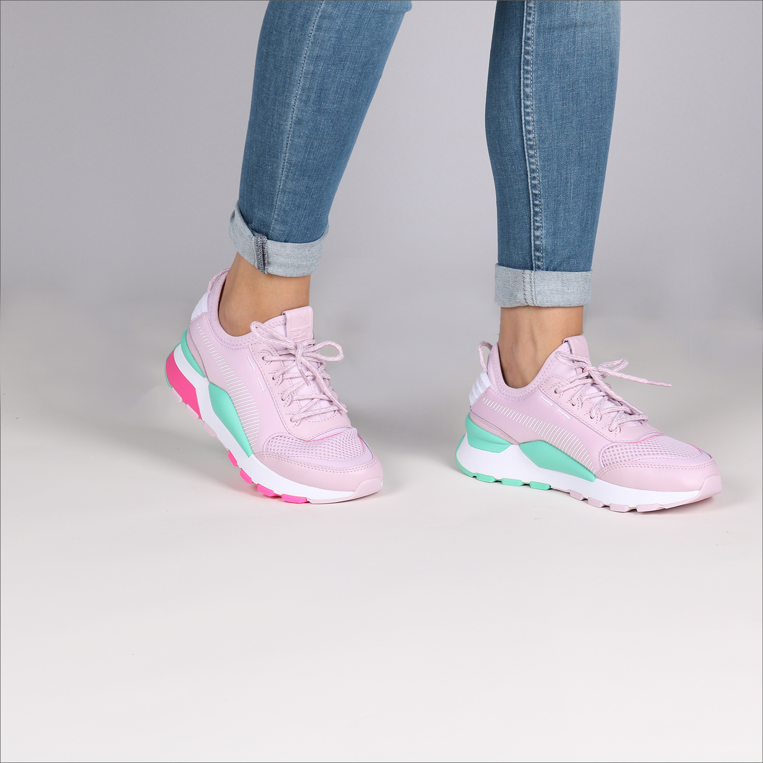 341550942a9 Roze PUMA Sneakers RS-0 PLAY DAMES - Omoda.nl