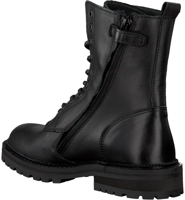 Zwarte HIP Veterschoenen H1686  - large