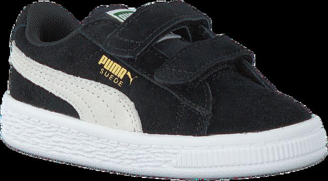 Zwarte PUMA Sneakers SUEDE 2 STRAPS - large