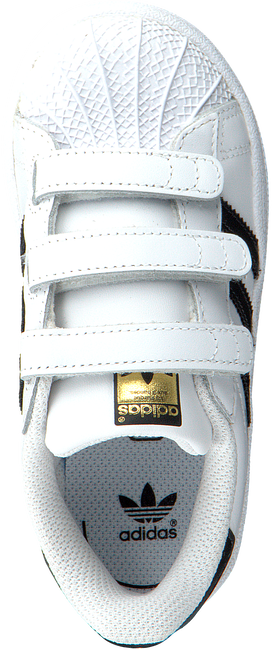 Witte ADIDAS Sneakers SUPERSTAR CF I  - large
