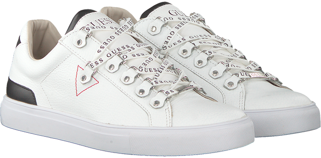 Witte GUESS Sneakers BARRY  - large