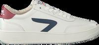 Witte HUB Lage sneakers BASELINE-M  - medium