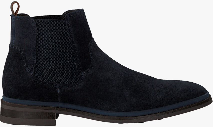 Blauwe MAZZELTOV Chelsea boots MBURGO603.OMO1  - larger