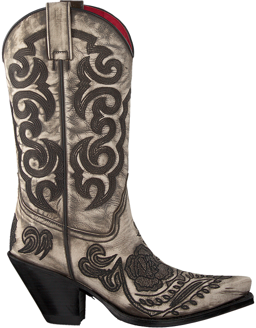 Grijze SENDRA Cowboylaarzen 14605 - large