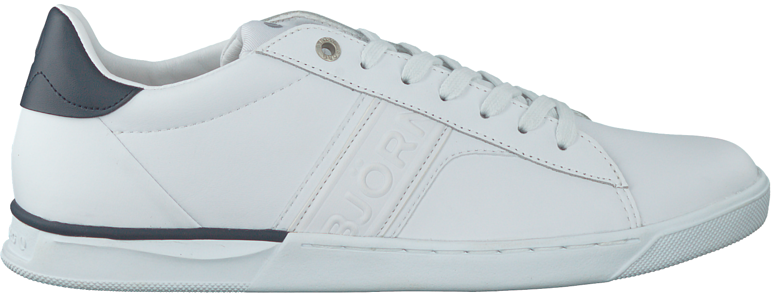 29fdbfaae18 Witte BJORN BORG Sneakers T100 LOW - large. Next