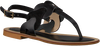 Zwarte NOTRE-V Sandalen 18704 wNjkP1ea