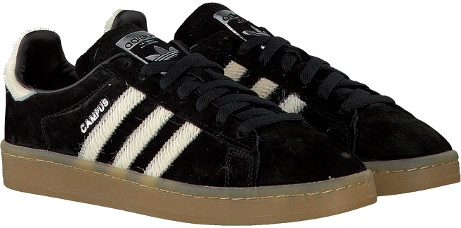 Zwarte ADIDAS Sneakers CAMPUS DAMES  - large