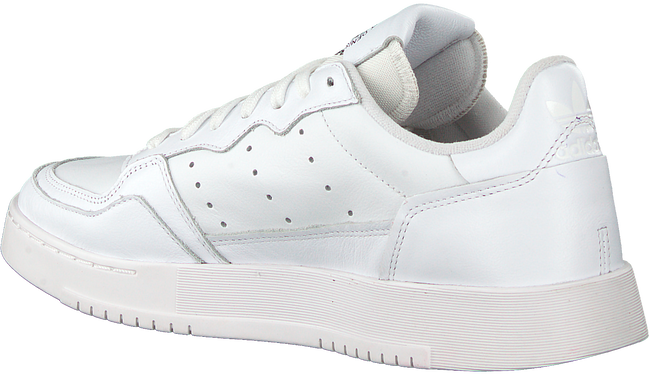 Witte ADIDAS Lage sneakers SUPERCOURT  - large