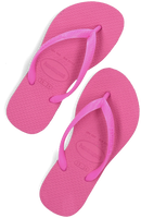 Roze HAVAIANAS Teenslippers BABY BRASIL LOGO II  - medium