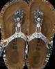Blauwe BIRKENSTOCK PAPILLIO Slippers GIZEH ANCIENT MOSAIC  - small