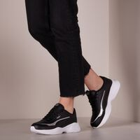 Zwarte PUMA Lage sneakers CILIA MODE LUX - medium