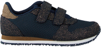 Blauwe WODEN Lage sneakers SANDRA PEARL MESH  - medium