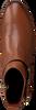 Cognac TOMMY HILFIGER Enkellaarsjes TH HARDWARE MID  - small