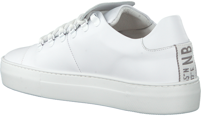 Witte NUBIKK Lage sneakers JAGGER CLASSIC  - large