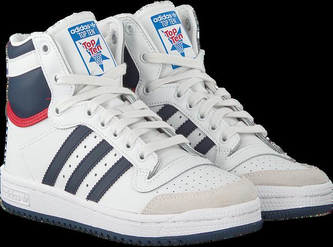 Witte ADIDAS Sneakers TOP TEN HI J  - large