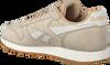 Beige REEBOK Sneakers CL LEATHER TL MEN - small