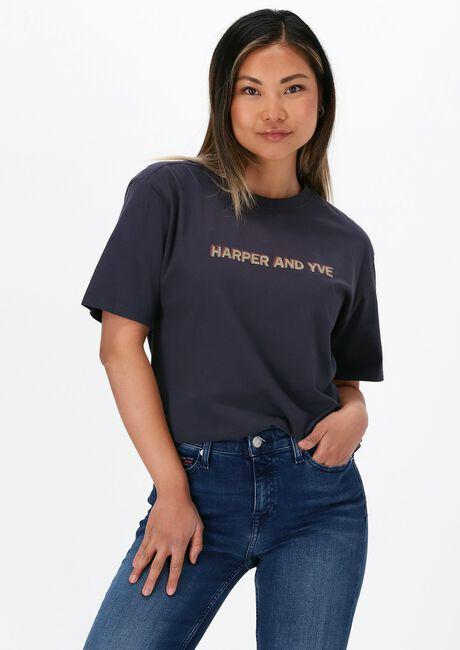 Zwarte HARPER & YVE T-shirt HARPER-SS  - large