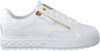 Witte GUESS Lage sneakers FIGGI  - small