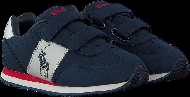 Blauwe POLO RALPH LAUREN Lage sneakers BIG PONY JOGGER EZ  - large