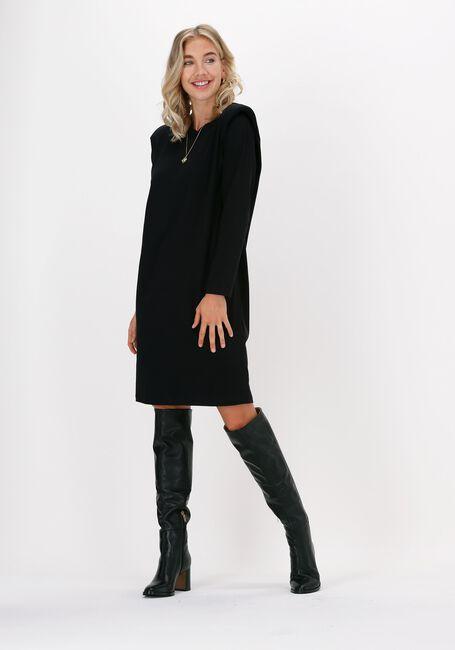Zwarte CO'COUTURE Mini jurk EDUARDA LS TEE DRESS  - large