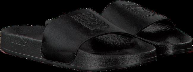 Zwarte PUMA Slippers LEADCAT SATIN WMNS  - large