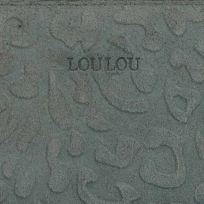 Groene LOULOU ESSENTIELS Portemonnee SLB4XS117S - large