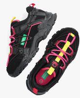 Zwarte BENETTON Lage sneakers FLOW  - medium