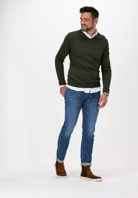 Blauwe DRYKORN Slim fit jeans JAZ 260063  - large