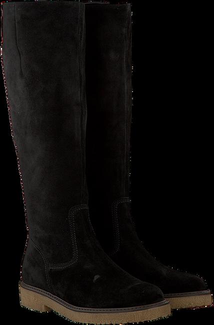 Zwarte GABOR Lange laarzen 659  - large