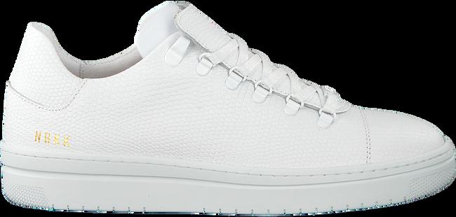 Witte NUBIKK Sneakers YEYE LIZARD WOMAN  - large