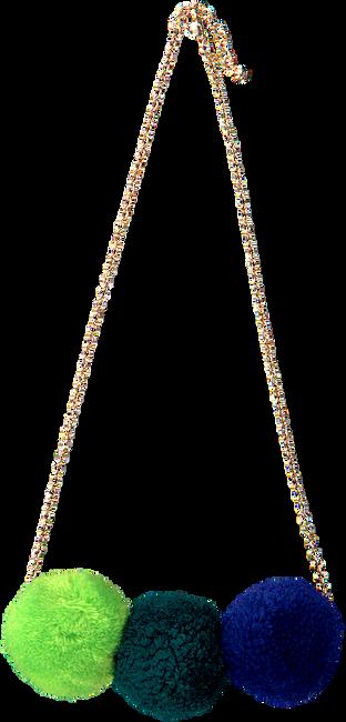 Blauwe LE BIG Ketting POOKY NECKLACE  - large