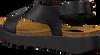 Zwarte RED RAG Sandalen 78052 - small