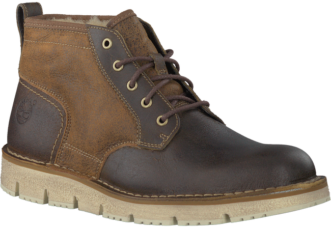Bruine TIMBERLAND Enkelboots WESTMORE SHEARLING BOOT  - large