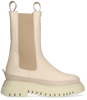 Beige JANET & JANET Chelsea boots 01000  - small