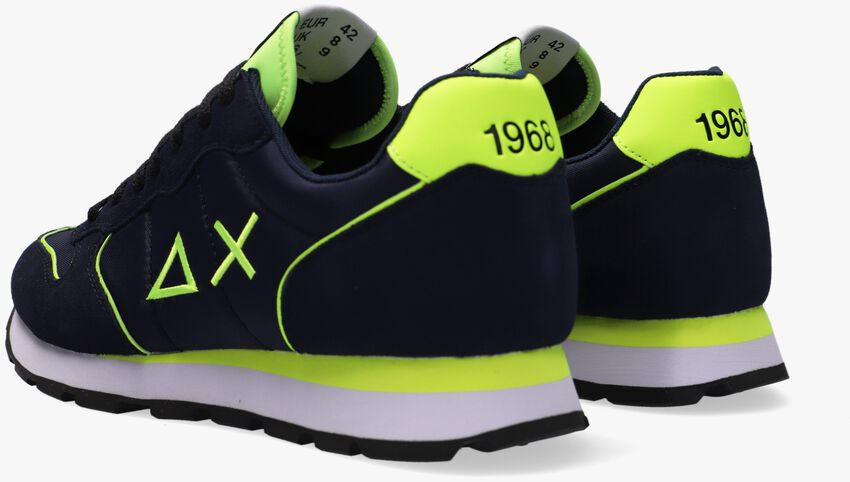 Blauwe SUN68 Lage sneakers TOM NYLON MEN  - larger